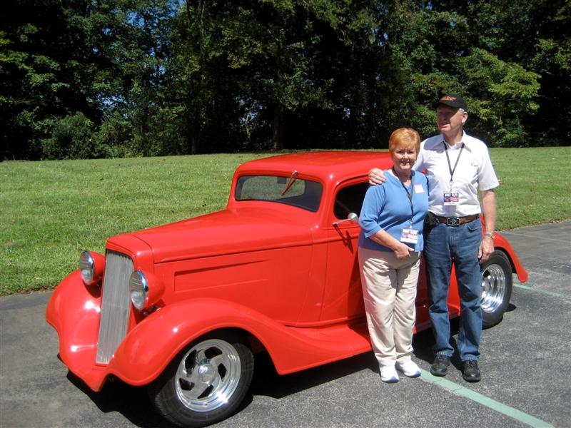 Volunteer Street Rod Association Members and Cars